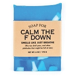 Soap for Calm The F Down  - 170g / 6oz - Sale/Final Cut