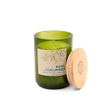 Basil and Cucumber - Paddywax Eco Green - Soy Candle - 8 oz