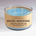 A Candle for Being Awesome - 481g / 17oz