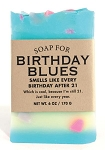 Soap for Birthday Blues - 170g / 6oz - Sale/Final Cut