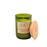 Blood Orange and Bergamot - Paddywax Eco Green - Soy Candle - 8 oz