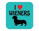 I Love Wieners - Coaster
