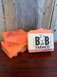 Just Peachy - B and B Farm Co - Natural Goat's Milk Bar Soap