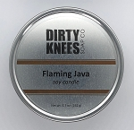 Flaming Java Soy Candle - Dirty Knees Soap Co - 5.7 oz - Sale/Final Cut
