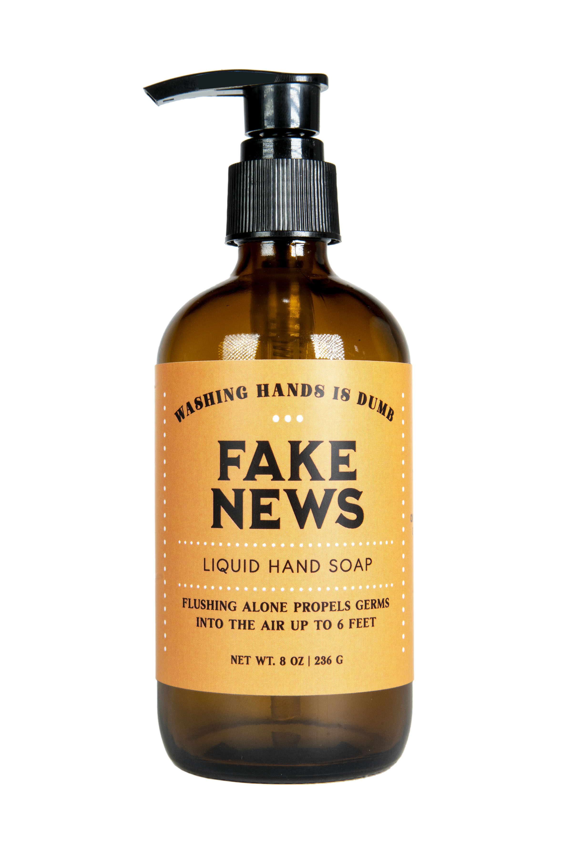 Fake News - Liquid Hand Soap - 8oz