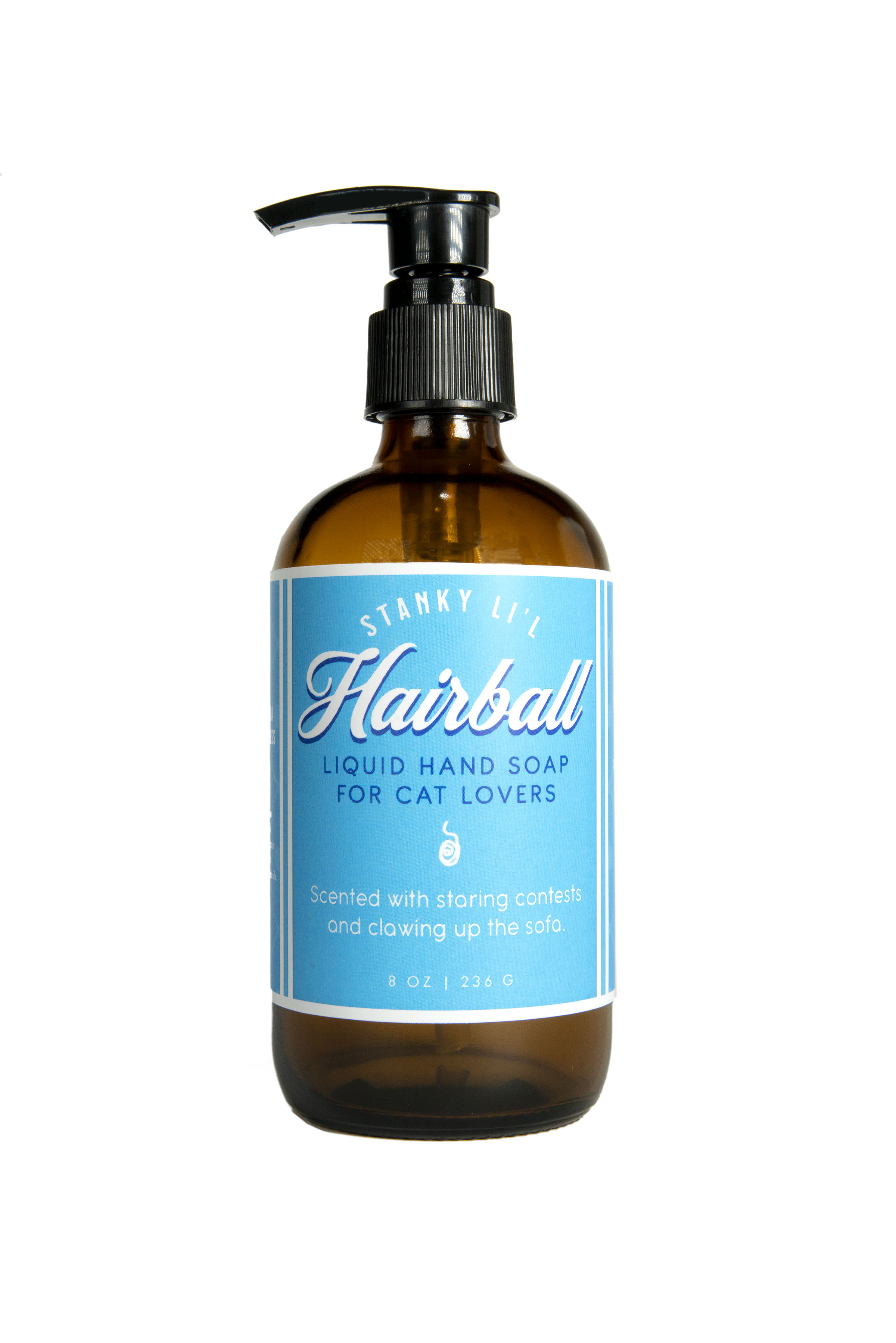 Hairball - Liquid Hand Soap - 8oz - Sale/Final Cut