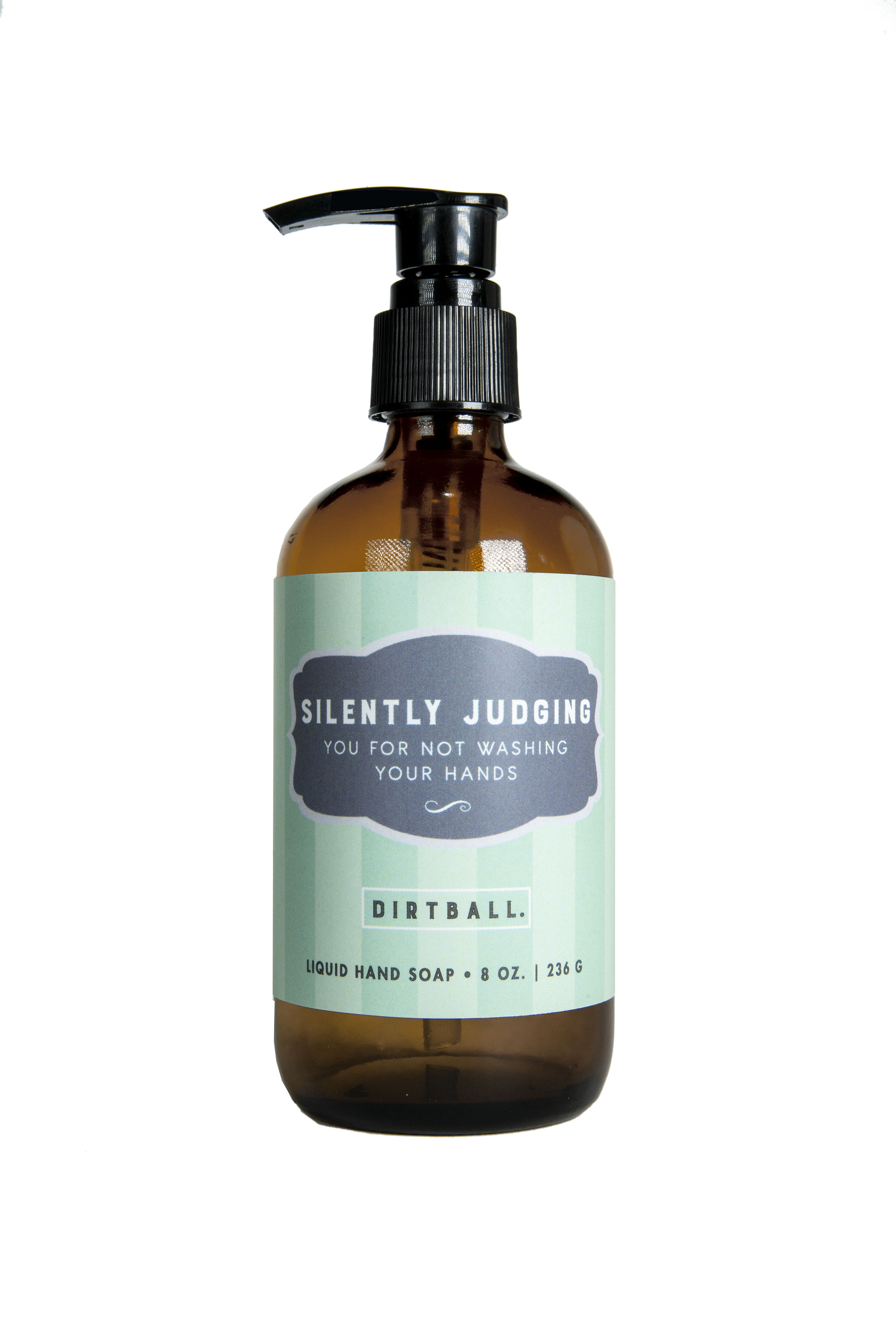 Silently Judging - Liquid Hand Soap - 8oz