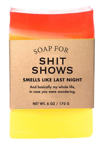 Soap for Shit Shows - 170g / 6oz - Sale/Final Cut