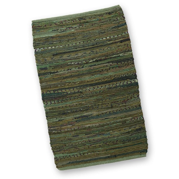 Olive Chindi Accent Rug
