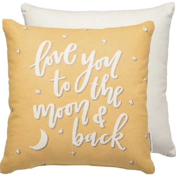 Love You To The Moon & Back - Decor Pillow