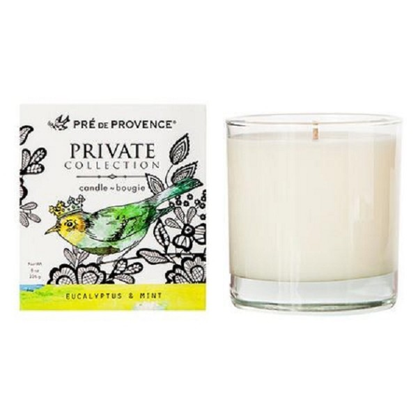 Eucalyptus & Mint - Pre de Provence - Private Collection - Soy Candle - 8oz