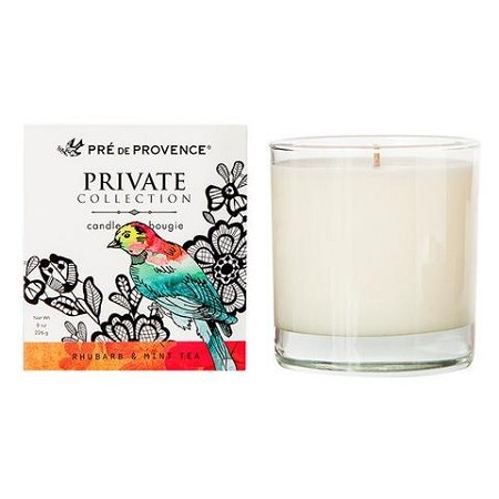 Rhubarb & Mint Tea - Pre de Provence - Private Collection - Soy Candle 8oz