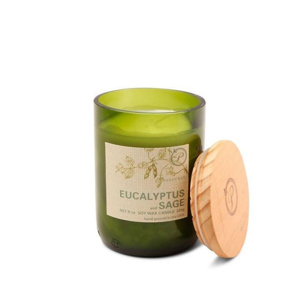 Eucalyptus and Sage - Paddywax Eco Green - Soy Candle - 8 oz