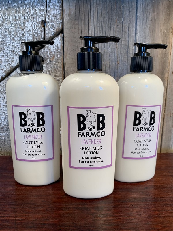 Lavender - B and B Farm Co - Natural Goat's Milk Body Lotion - 8oz