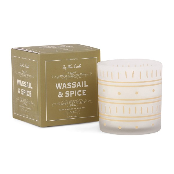 Wassail and Spice - Paddywax - Glee Holiday - Soy Candle - 8oz