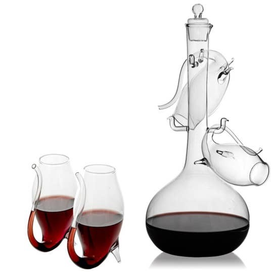 Port Wine - Sipper Decanter Set