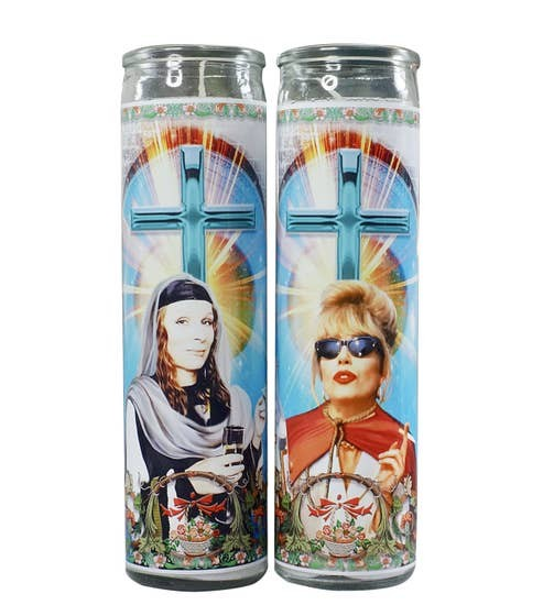 Absolutely Fabulous - Celebrity Prayer Candle - Set of 2