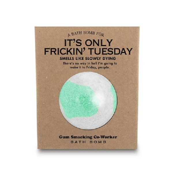 A Bath Bomb for It's Only Frickin' Tuesday - 170g / 6oz