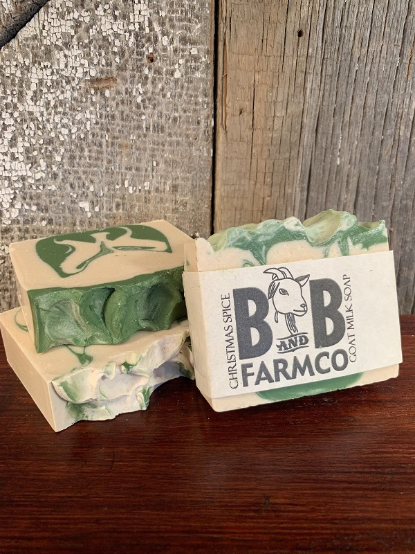 Christmas Spice - B and B Farm Co - Natural Goat's Milk Bar Soap