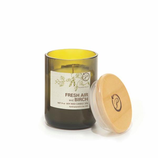 Fresh Air and Birch - Paddywax Eco Green - Soy Candle - 8 oz