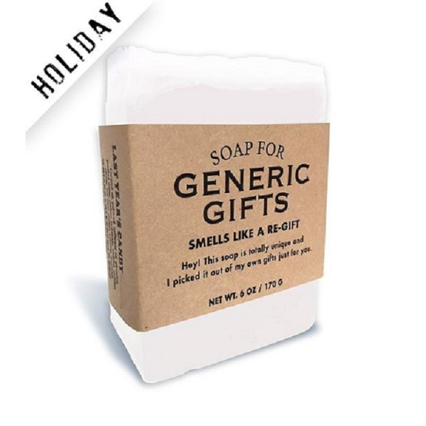 Soap for Generic Gifts - 170g / 6oz - Sale/Closeout