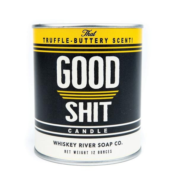 Good Shit - Whiskey River Soap - Vintage Paint Can Soy Candle - 17oz