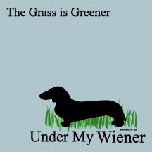 The Grass Is Greener Under My Wiener - Post It / Sticky Notes
