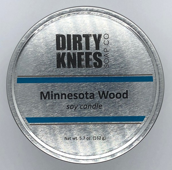 Minnesota Wood Soy Candle - Dirty Knees Soap Co.