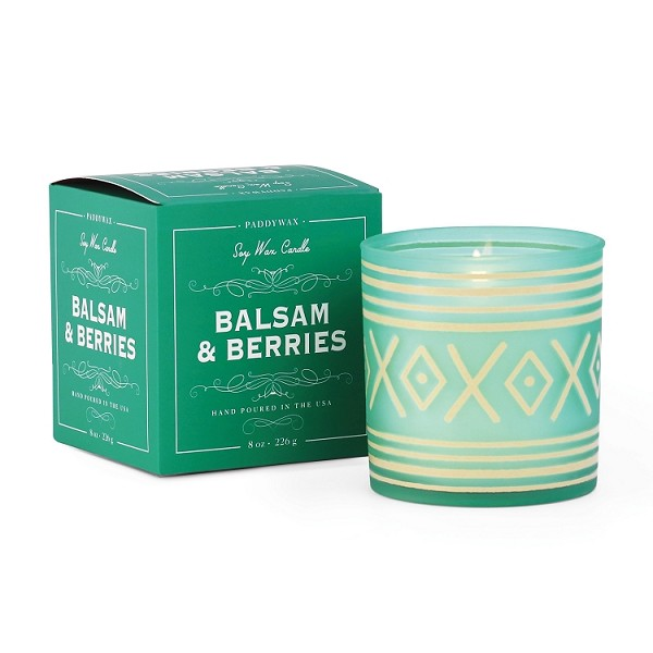 Balsam and Berries - Paddywax - Glee Holiday - Soy Candle - 8oz