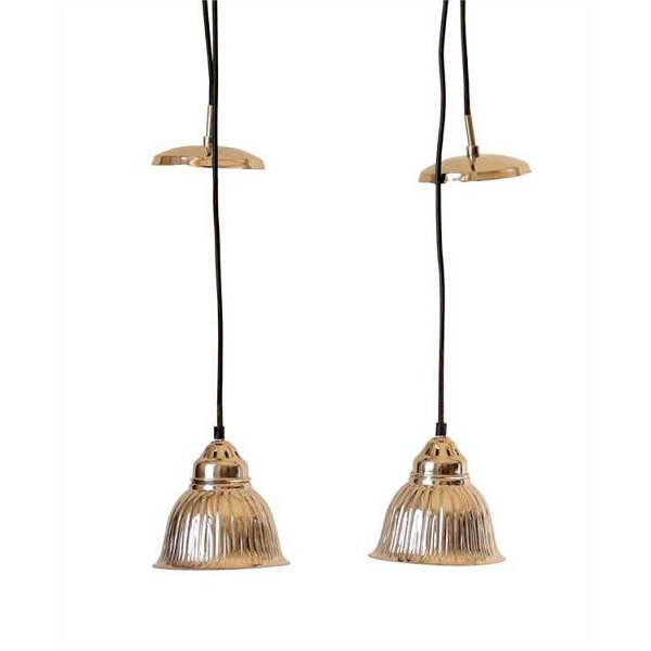 Brushed Nickel Hanging Pendant Light -Sale/Closeout