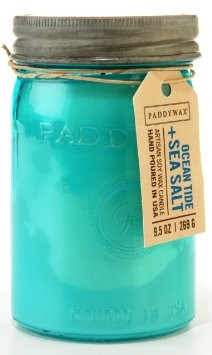 Paddywax Relish Soy Candle - Ocean Tide and Sea Salt - 9.5oz