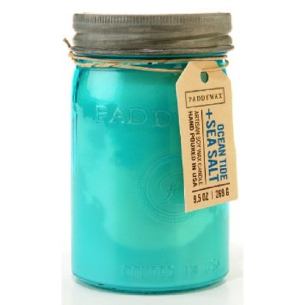 Ocean Tide & Sea Salt - Paddywax Relish - Soy Candle - 9.5oz