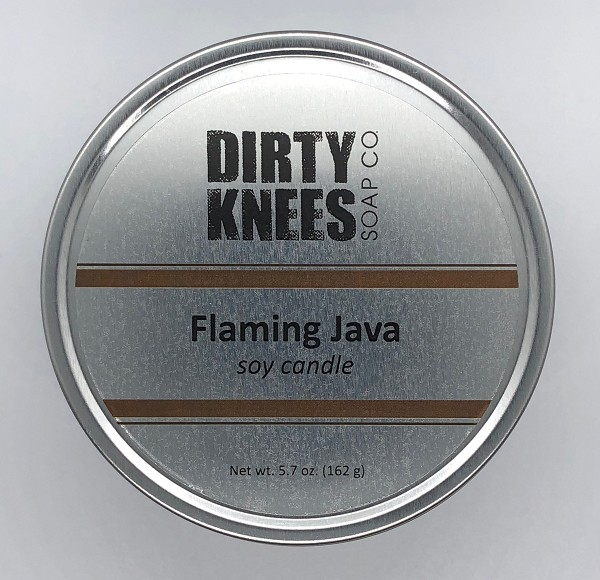 Flaming Java Soy Candle - Dirty Knees Soap Co.