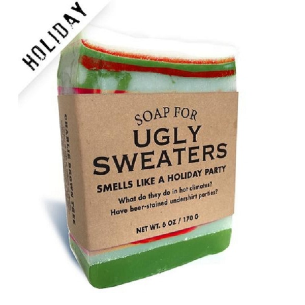 Soap for Ugly Sweaters - 170g / 6oz - Sale/Closeout